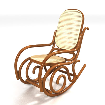 3ds rocking chair