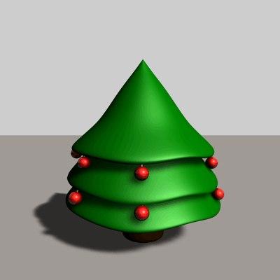 3ds xmas tree
