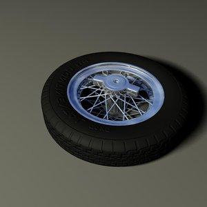 ancient wheel 3d max