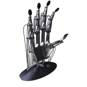 3ds max robot hand