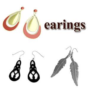 3d earings ring