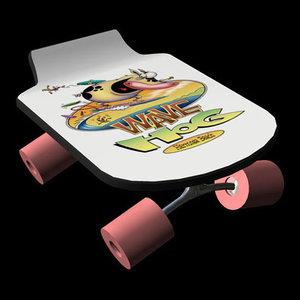 skateboard pzsg sktbd 3d pz3