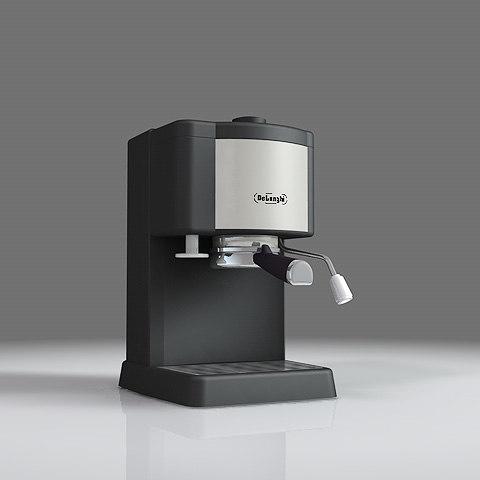 delonghi coffee maker 3d 3ds