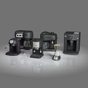 delonghi coffee maker 3d model