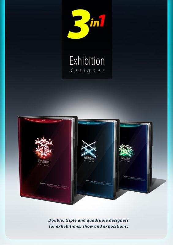 3d exhibition designer expositions model