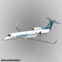 embraer erj-135 air 3d model