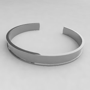 bracelet accessories jewelry 3d model