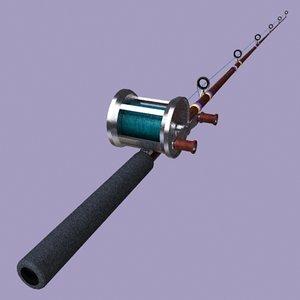 3ds fishing rod