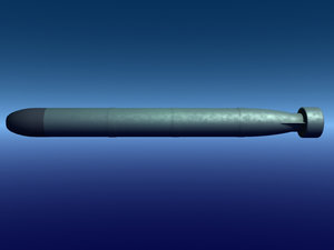 mk-48 torpedo 3d 3ds