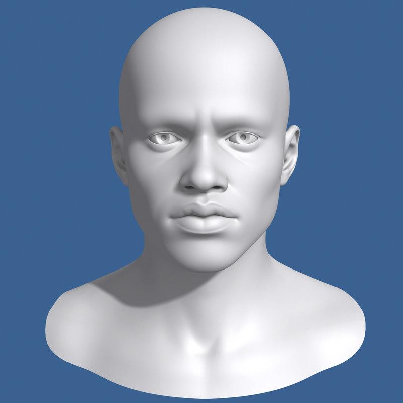 max african male head