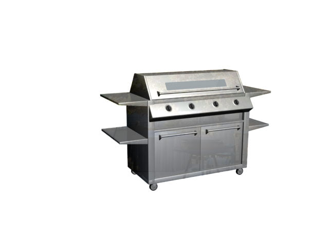 grill cooker 3d model