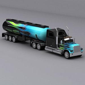 max semi trailer truck