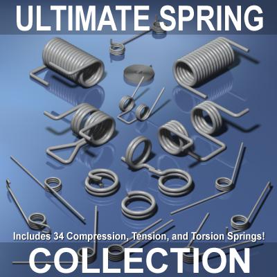 3d ultimate spring model