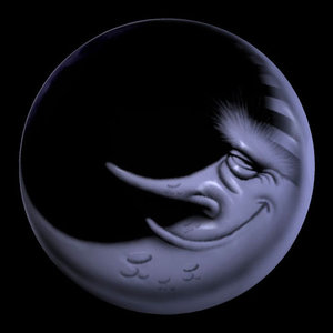 3d model lunaman cartoon pzsg luna
