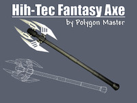 High-Tec Fantasy Axe