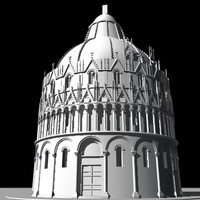 3d church building