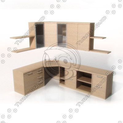 3d study units model