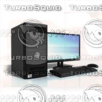 3d model pc computer