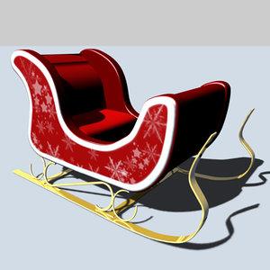 cinema4d santa sled