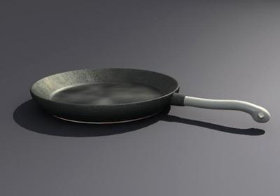 3ds max frying pan