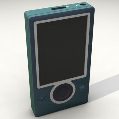 lightwave zune player microsoft