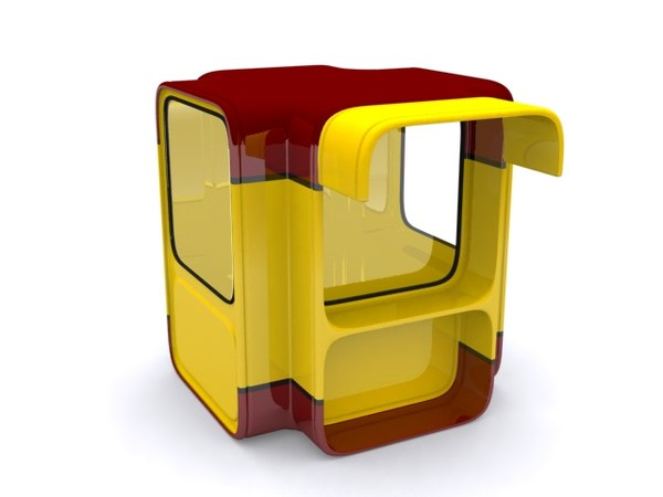 k67 kiosk 3d model