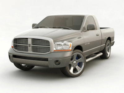 3d model of dodge ram