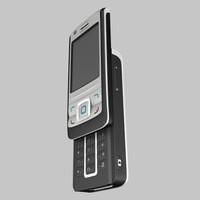 3d nokia 6280 phone model