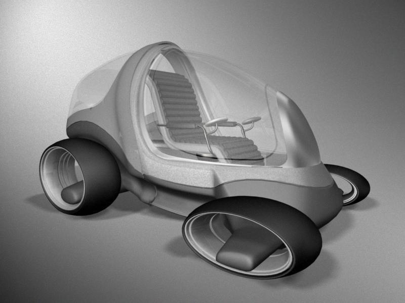 3ds max concept car