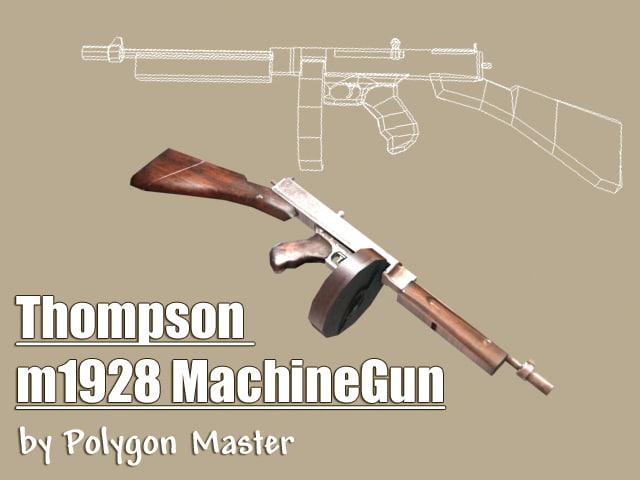 fusil shotgun 3d model