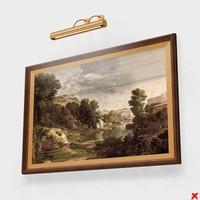 frame paintings lamp max