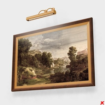 frame paintings lamp max
