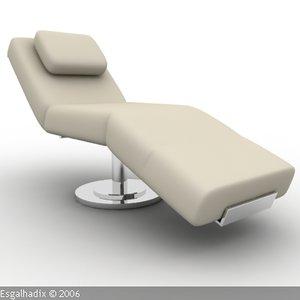 3ds max armchair sofa chair