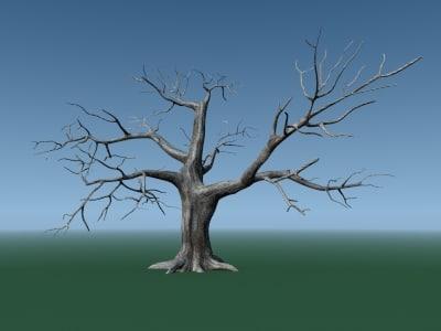 lightwave old tree