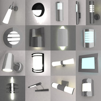 wall lamps 3ds