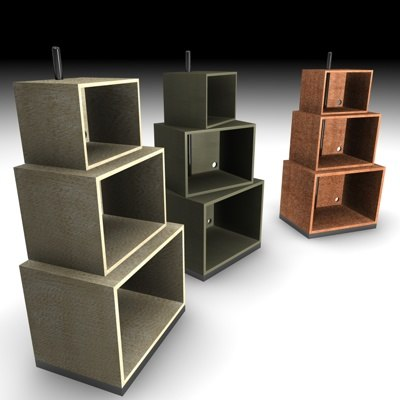 turning shelf 3d model