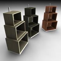 3d model turning shelf