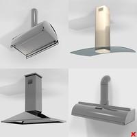 kitchen air cleaner 3d model