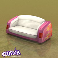 3d mercury couch model
