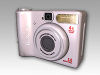 canon a530 3d model