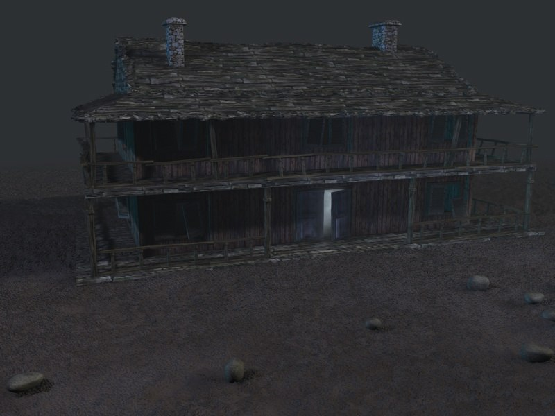 3d house old