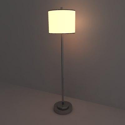 3d model lamp lighting