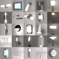 lamps lights 3d 3ds