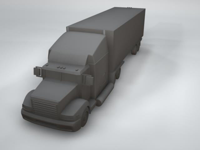 maya truck availlable formats