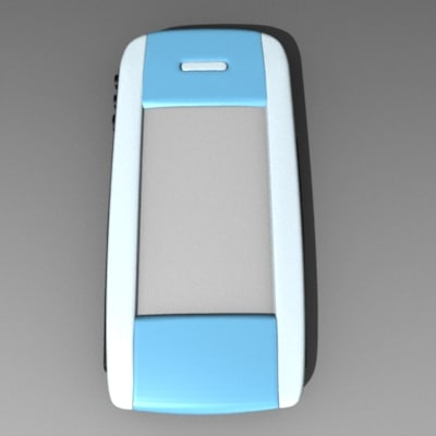 p800 cell phone 3d 3ds