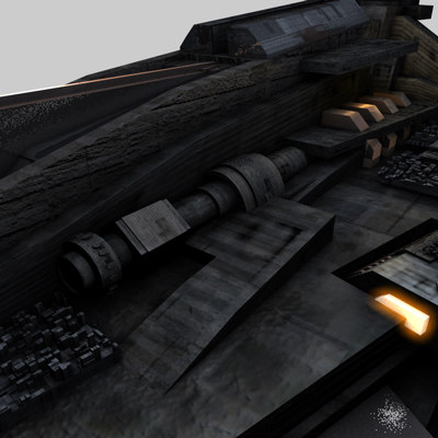 3d model spaceship fighter spacefighter