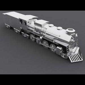 3d locomotive 2 8 0