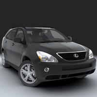 car v-ray 3d model