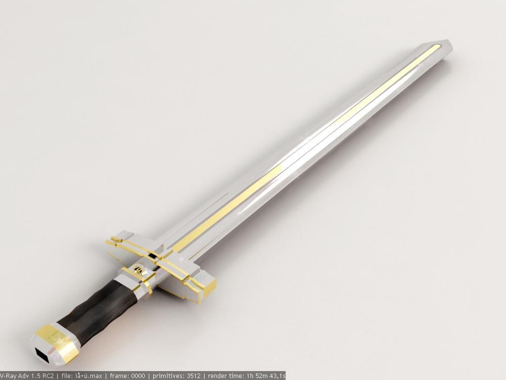 3dsmax sword