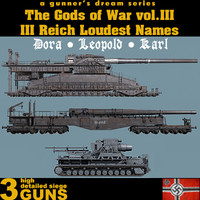 The Gods of War vol.III - III Reich Loudest Names